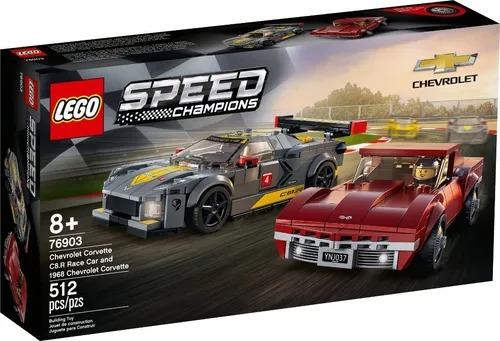 Lego 76903 Speed Champions - Chevrolet Corvette C8.R Race E 1968 Chevrolet Corvette  512 peças