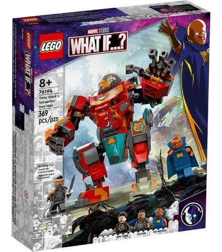 Lego Marvel 76194  Homem De Ferro Sakaariano De Tony Stark  Carro e Robo  369 peças