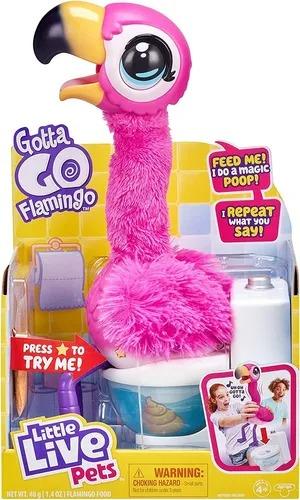 Little Live Pets Gotta Go Flamingo 32 cm C/ Sons E Movimentos - Fun