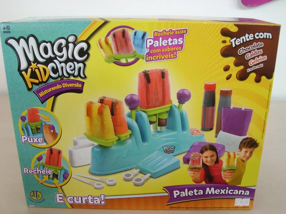 Magic KidChen Faz de Verdade Paleta Mexicana ( Picolé) DTC