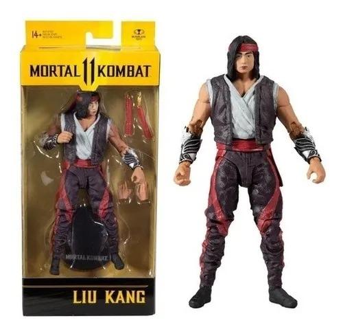 Mortal Kombat II - Liu Kang 18 cm 22 Articulações – Mcfarlane Fun