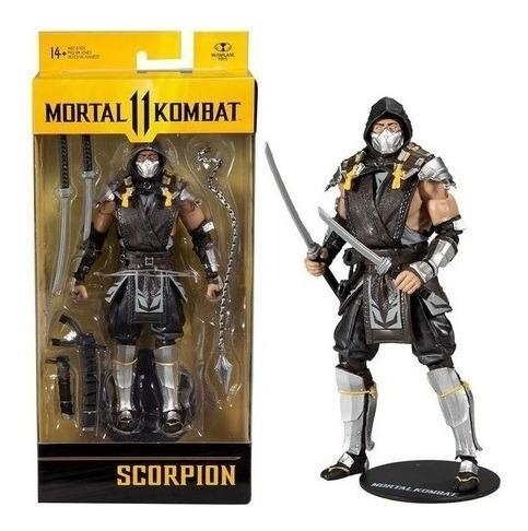 Mortal Kombat II – Scorpion 18 cm 22 Articulações – Mcfarlane Fun