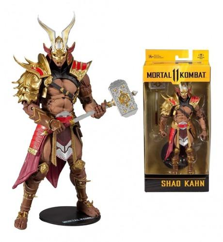 Mortal Kombat II – Shao Kahn 18 cm 22 Articulações – Mcfarlane Fun
