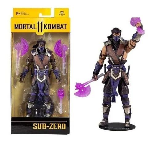 Mortal Kombat II – Sub Zero 18 cm 22 Articulações – Mcfarlane Fun