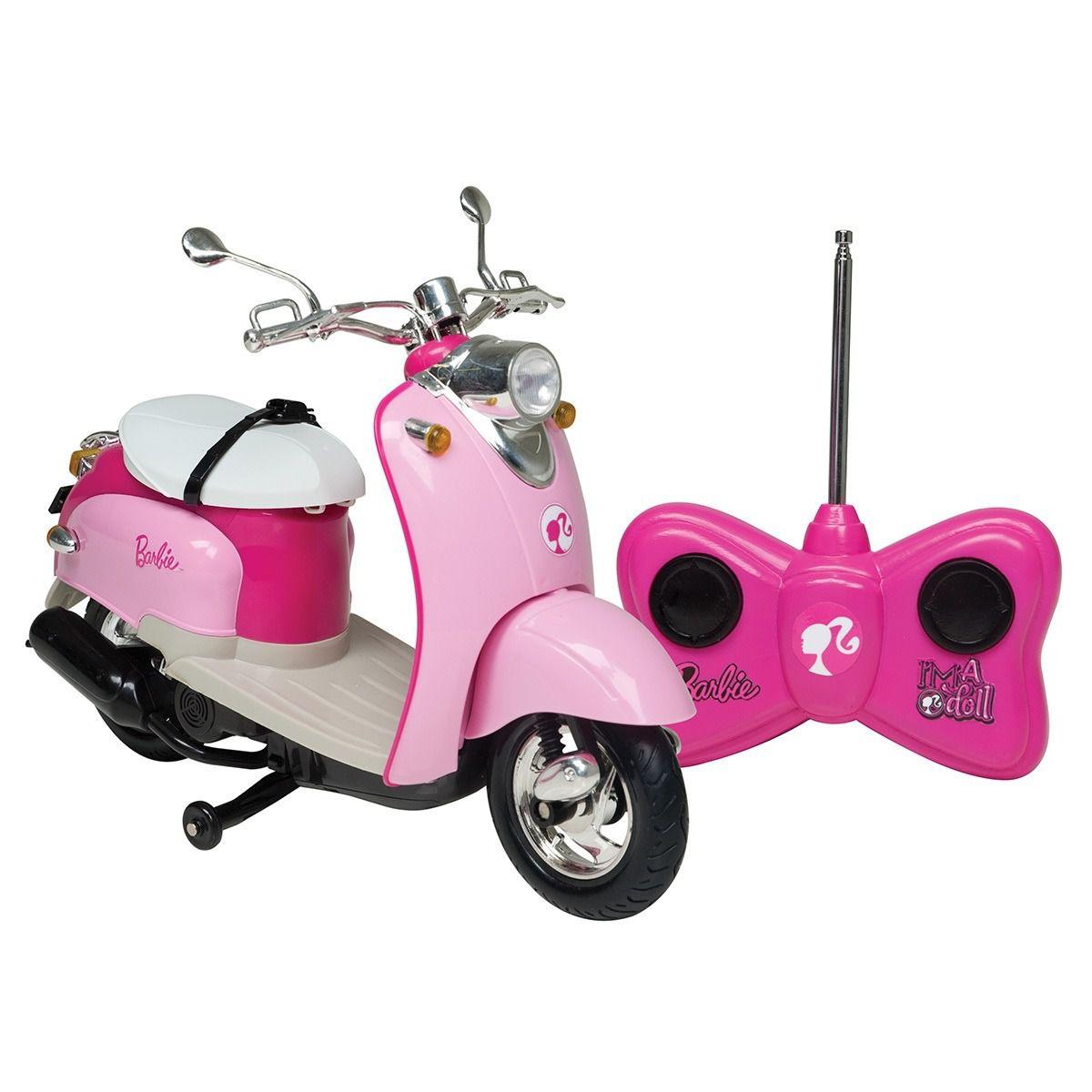 Moto Dreamcycle Barbie Controle Remoto - 7 Funções e Bateria Recarregavel   – Candide