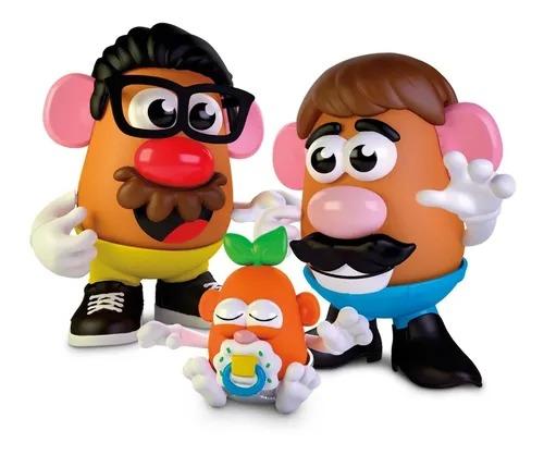 Mr Potato Criando A Família Cabeça De Batata  45 peças - Hasbro