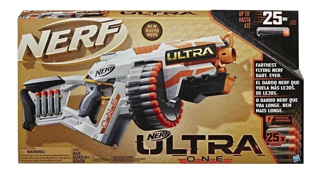 Nerf Lançador Ultra One Motorizado  + Precisão + Velocidade + Alcance - Hasbro