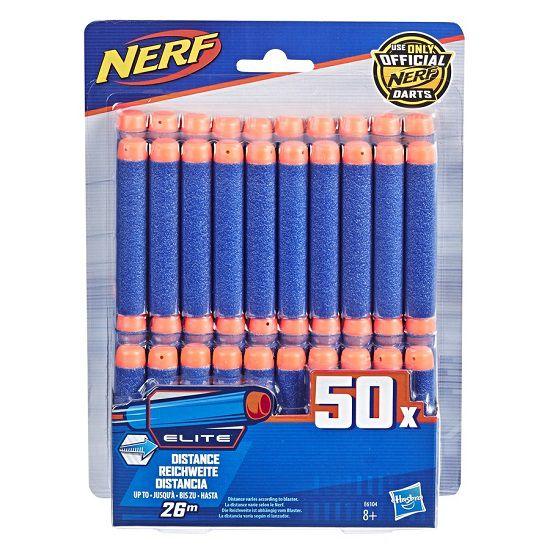 Pack Refil Dardos Nerf Elite Strike Original Com 50 dardos - Hasbro   - Doce Diversão