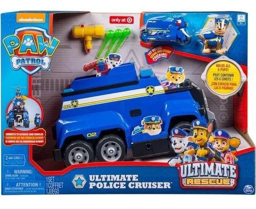 Patrulha Canina Carro de Polícia Resgate Extremo Chase 32 cm Com som e luz - Sunny