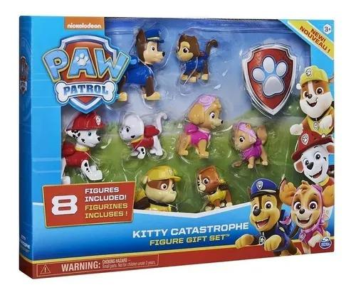 Patrulha Canina Kit Com 8 Figuras  - Kitty Catastrophe – Sunny