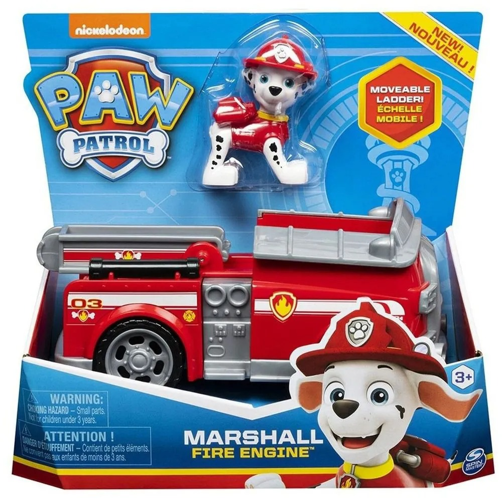 Patrulha Canina - Marshall Fire Fightin - Veículo com Figura - Sunny