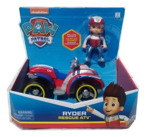 Patrulha Canina - Ryder Rescue ATV - Veículo com Figura - Sunny