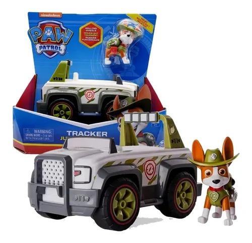 Patrulha Canina - Tracker Jungle Cruiser - Veículo com Figura - Sunny