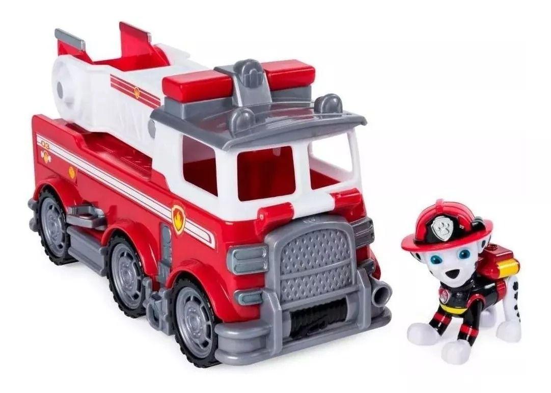 Patrulha Canina Ultimate Resgate Extremo - Marshall Fire Veículo com Figura - Sunny