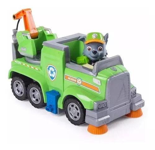 Patrulha Canina Ultimate Resgate Extremo - Rocky Recycle Veículo com Figura - Sunny