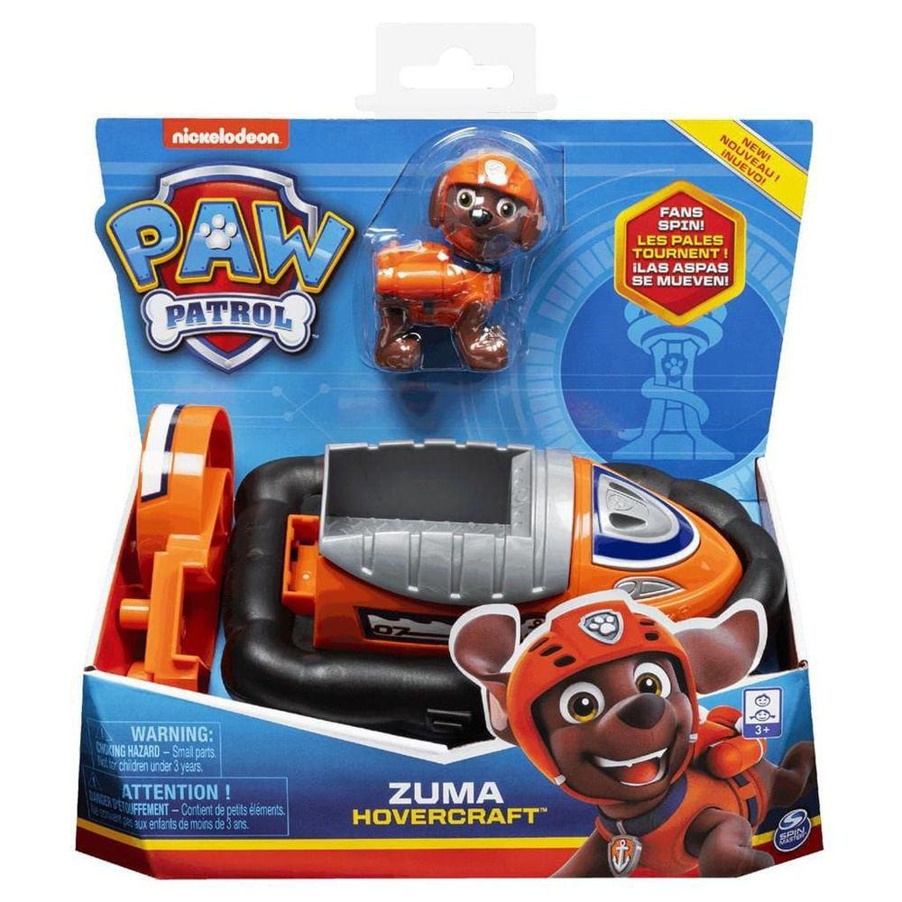 Patrulha Canina - Zuma Hovercraft Veículo com Figura - Sunny