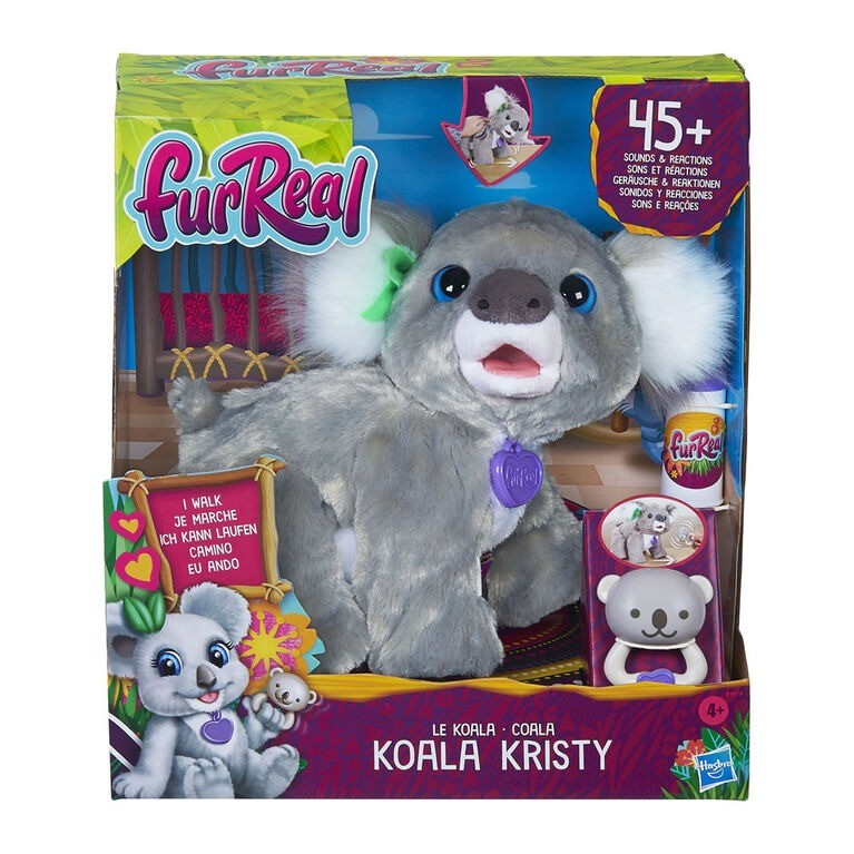 Pelucia Furreal Koala Kristy Interativo – 45 Sons e Reações -  Hasbro