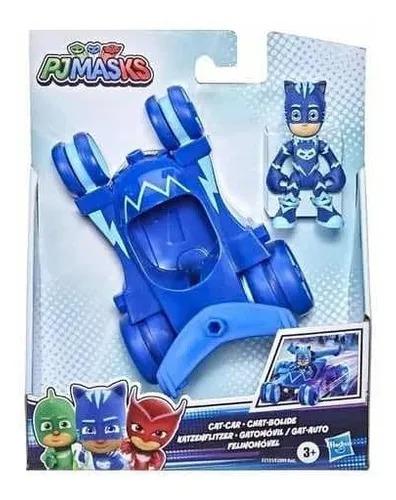 Pj Masks Veículo E Boneco - Felinomóvel + Menino Gato  Hasbro