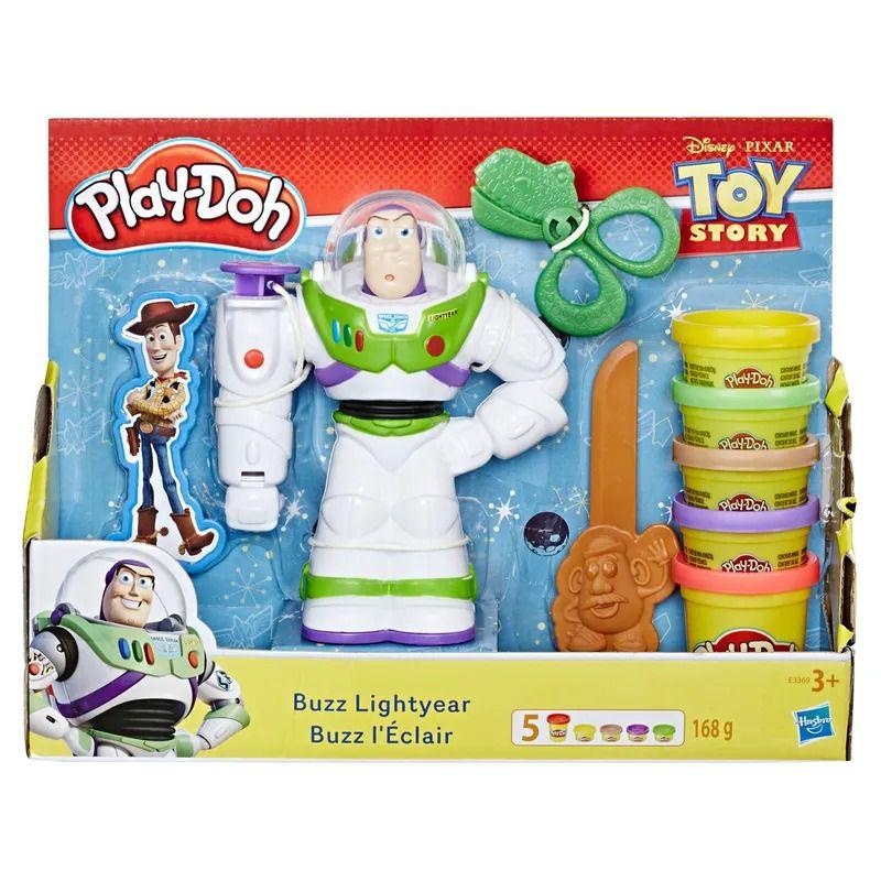 Play Doh  Disney - Toy Story 4 - Buzz Lightyear e Woody - Hasbro