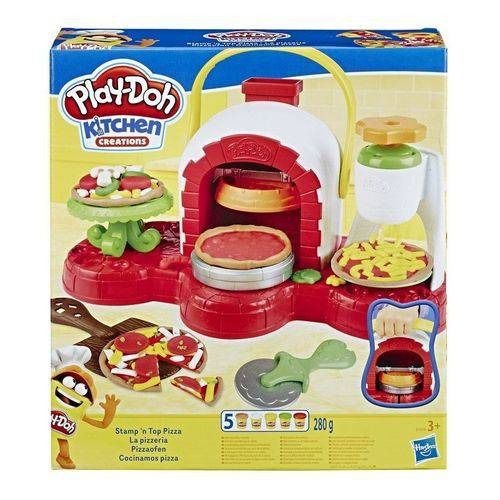 Play Doh Kitchen Creations - Forno para Pizza – Hasbro - Doce Diversão