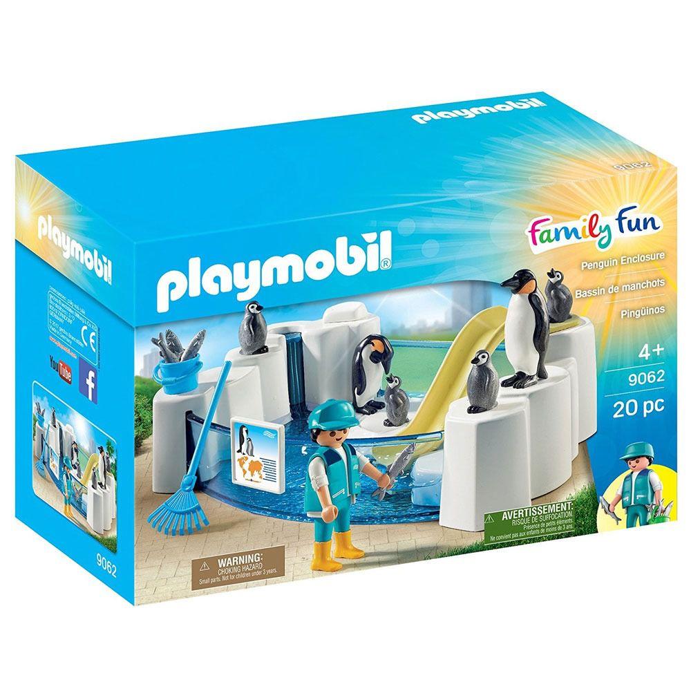 Playmobil Aquário Piscina Dos Pinguins Pinguinário