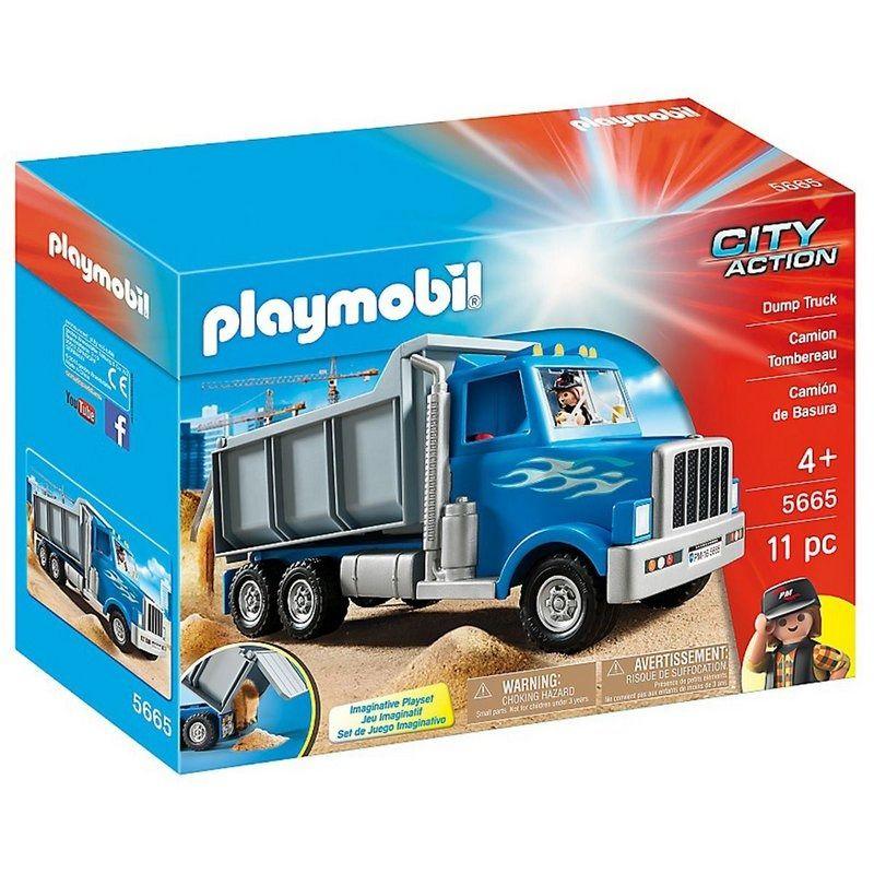 Playmobil City Action – Caminhão Basculante- Sunny