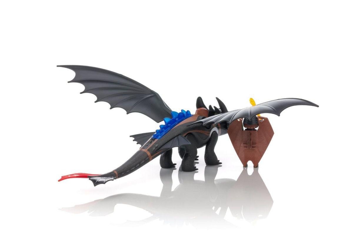 Playmobil Como Treinar O Seu Dragão - Soluço E Banguela – 16 peças  - Doce Diversão
