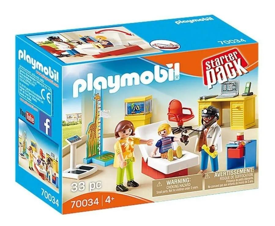Playmobil Consultorio Pediatrico – 33 peças