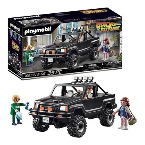 Playmobil De Volta Para O Futuro Pick Up Marty - 35 Peças