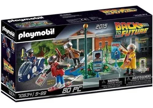 Playmobil - De Volta Pro Futuro - Fuga De Skate  80 peças
