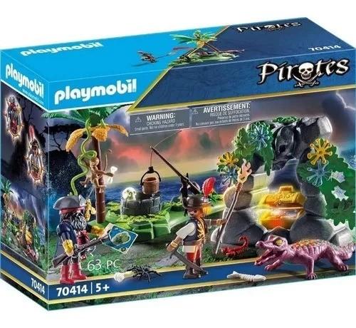 Playmobil Refúgio Do Pirata – 63 peças