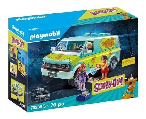 Playmobil Van Scooby Doo Máquina De Mistérios  70 peças - Sunny