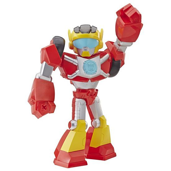 Playskool Heroes Transformers Rescue Bots Academy Mega Mighties  Hot Shot - Hasbro