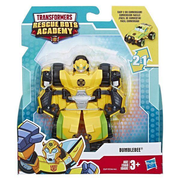 Playskool Transformers Rescue Bots Academy 2 em 1-  Bumblebee 13 cm -  Hasbro