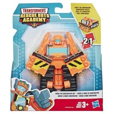 Playskool Transformers Rescue Bots Academy 2 em 1-  Wedge 13 cm -  Hasbro