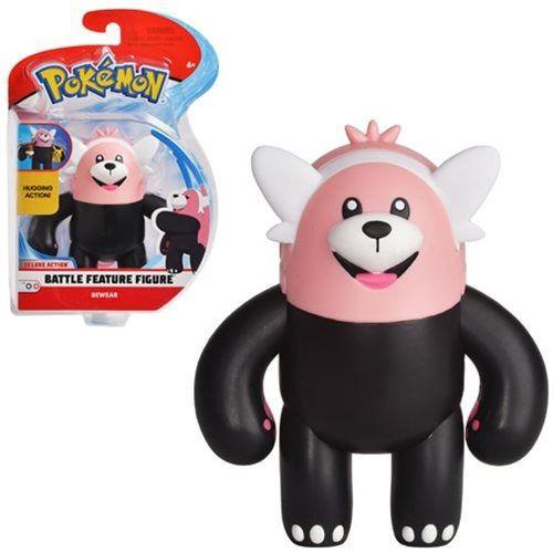 Pokémon Boneco De Batalha Abraça 11 cm Bewear - DTC