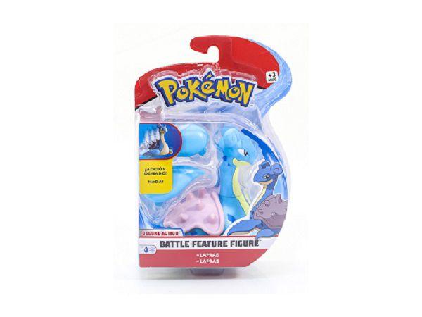Pokémon Boneco De Batalha Nada 11cm Lapras DTC  - Doce Diversão