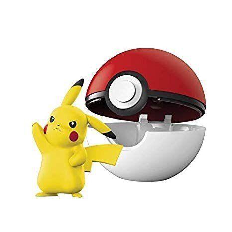 Pokémon Clip N Go - Kit C/ 6 Pokébola Com Clip e 6 bonecos - Dtc