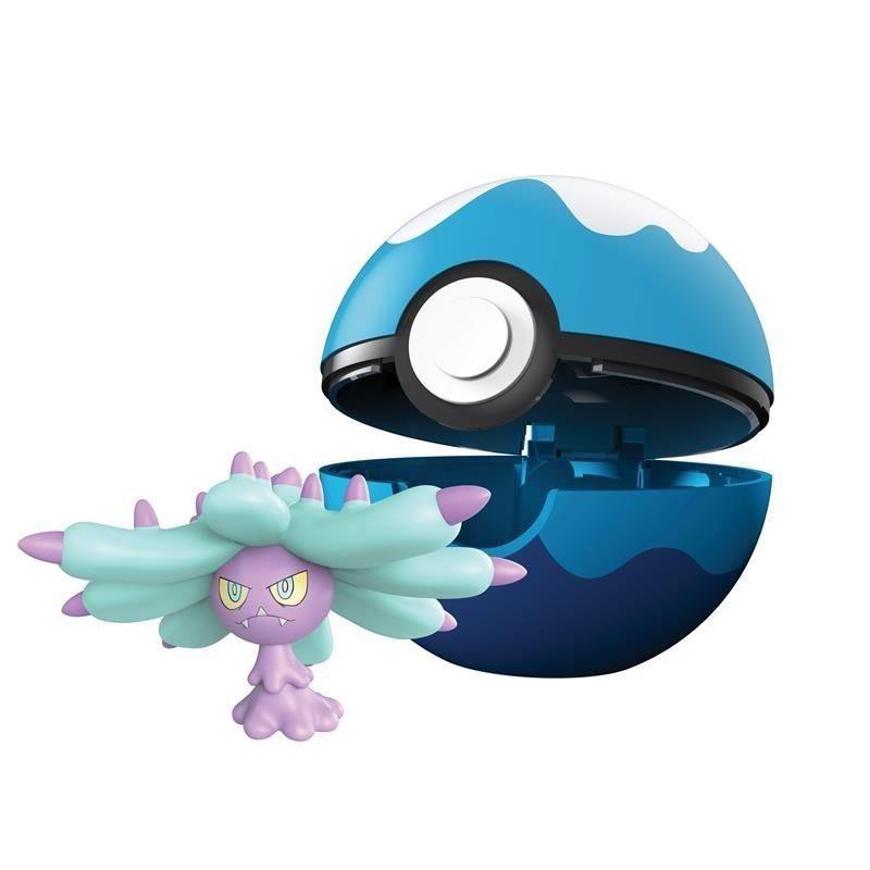 Pokémon Clip N Go Pokébola Com Clip - Mareanie e Buceo Ball Dtc