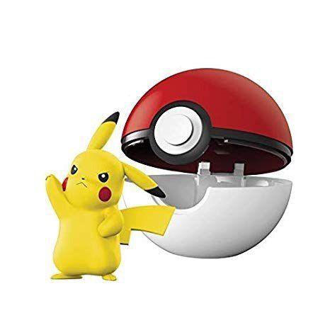 Pokémon Clip N Go Pokébola Com Clip e Pikachu Pokéball Dtc