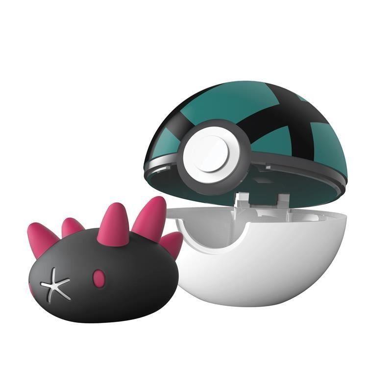 Pokémon Clip N Go Pokébola Com Clip - Pyukumuku e Malla Ball Dtc