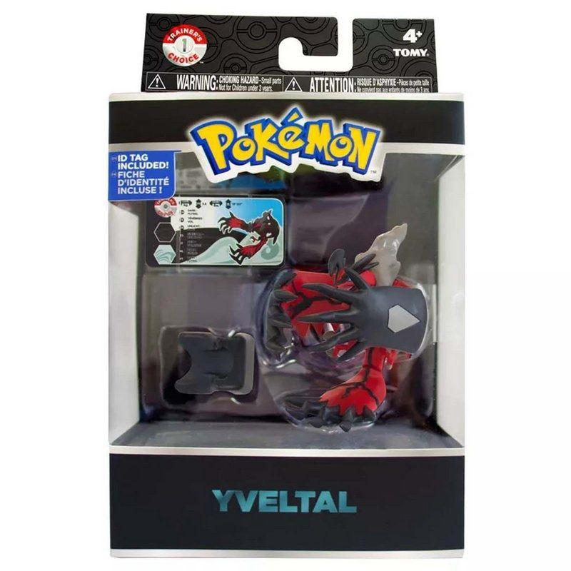 Pokémon Legendary Yvetal Trainers Choice 10 cm articulado - Sunny  - Doce Diversão