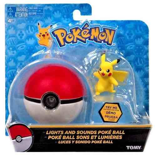 Pokémon - Pokebola + Pikachu -  Com som e luz Tomy
