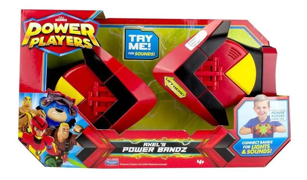 Power Players Eletronico Power Luvas Axel Com Luz e Sons Portugues - Sunny