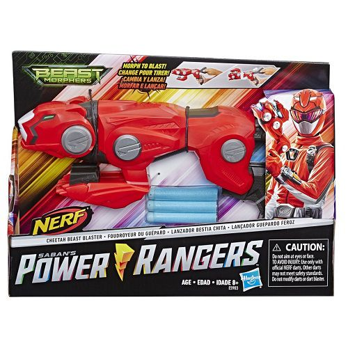Power Rangers Beast Morphers Cheetah Blade Nerf – Morfar e Lançar - Hasbro
