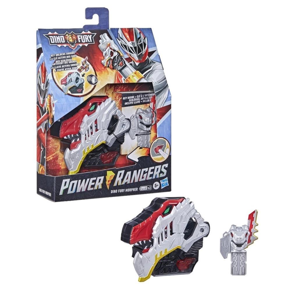 Power Rangers Morfador Eletrônico Dino Fury C/ Som E Luz - Hasbro
