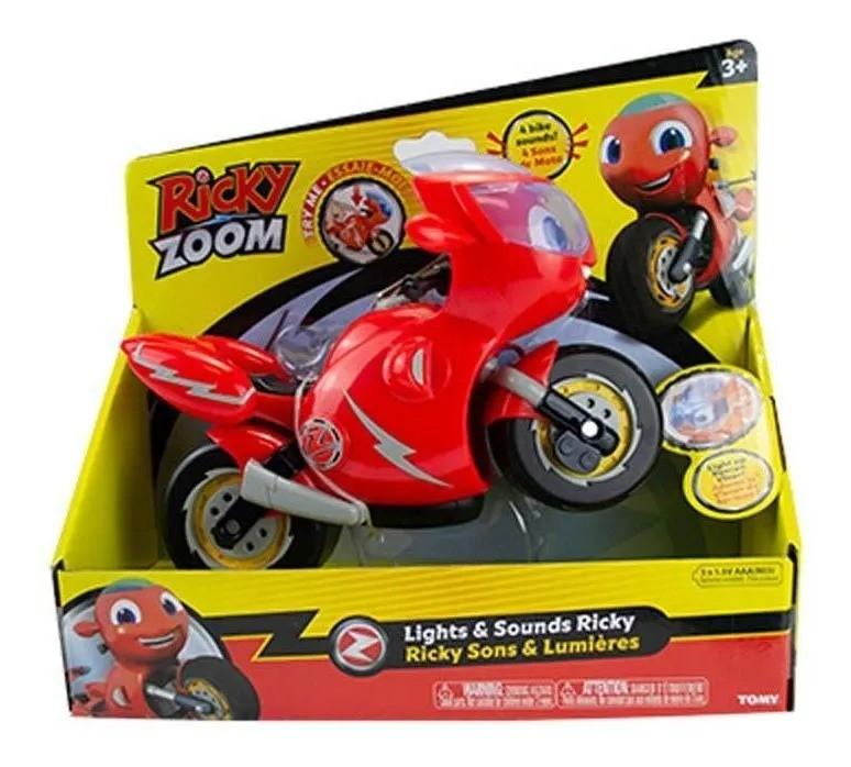 Ricky Zoom Moto 19 cm C/ Luz e 4 Sons - Sunny