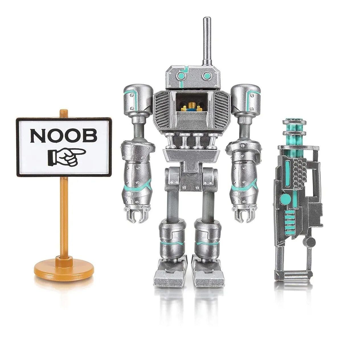 Roblox Boneco Articulado Noob Attack C/ Acessórios e Código Virtual - Sunny