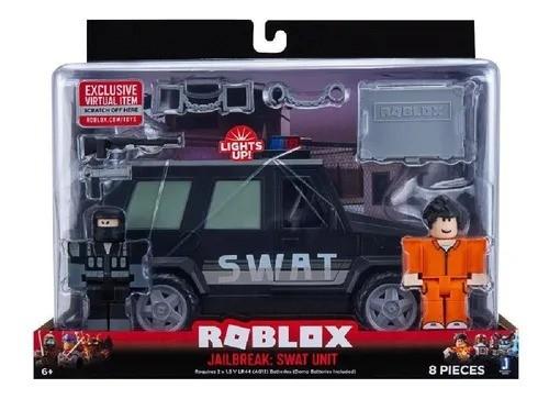 Roblox – Jailbreak: Swat - Veiculo C/luz - 8 peças -  Sunny