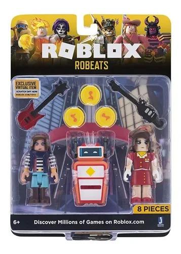Roblox Pack Celebrity Robeats  8 Peças
